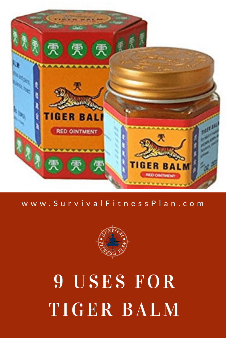 Pin2, Uses for Tiger Balm, Survival Fitness Plan