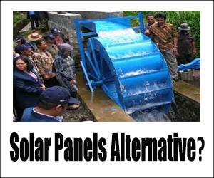 solar panel alternative
