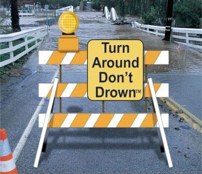 Turn Around Don't Drown
