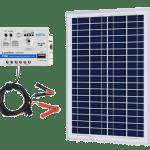 ACOPOWER 25W 12V Solar Charger Kit
