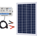 ACOPOWER 25W 12V Solar Charger Kit