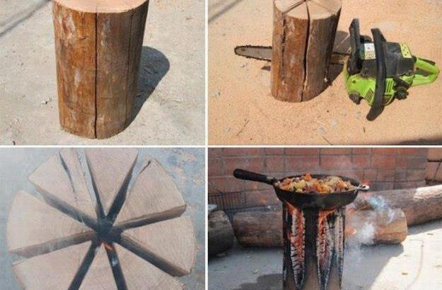 Log Cooking
