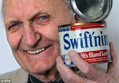 64 year old lard Expired food