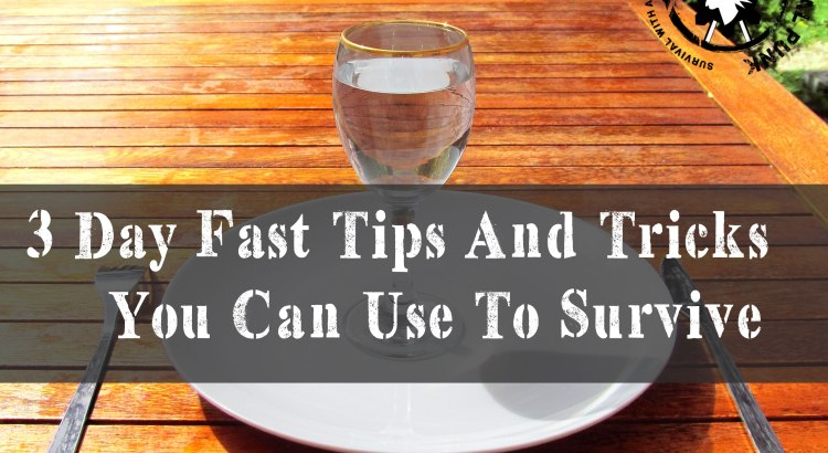 3 Day Fast Tips And Tricks You Can Use To Survive