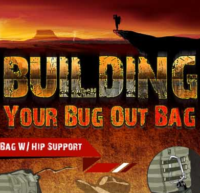 Building Your Bug Out Bag Infographic