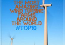 #Top10 - The Most Amazing Wind Turbine Farms Around The World