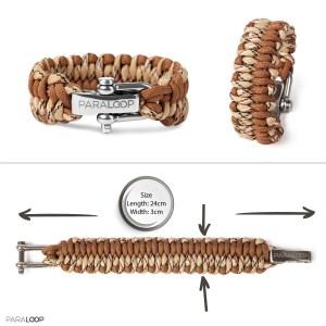 Armband survival seil schnur geknüpft outdoor