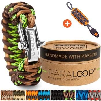 Survival armband paraloop paracord geflochten bushcraft überleben