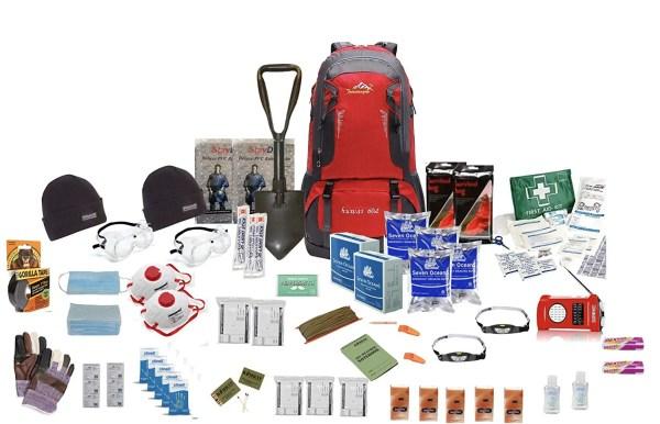 Notgepäck Fluchtrucksack survival kit 2 personen