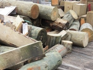 logs for the swedish fire torch