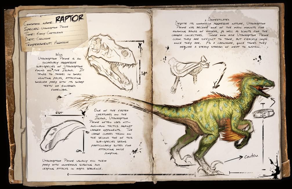 Raptor Survive Ark