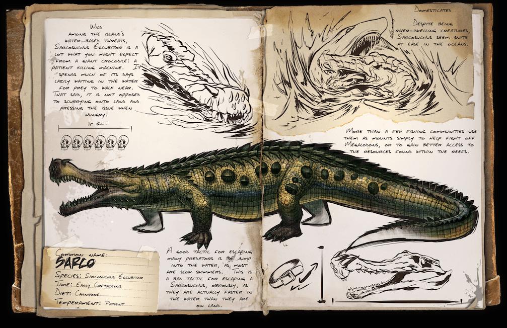 Sarcosuchus Survive ARK
