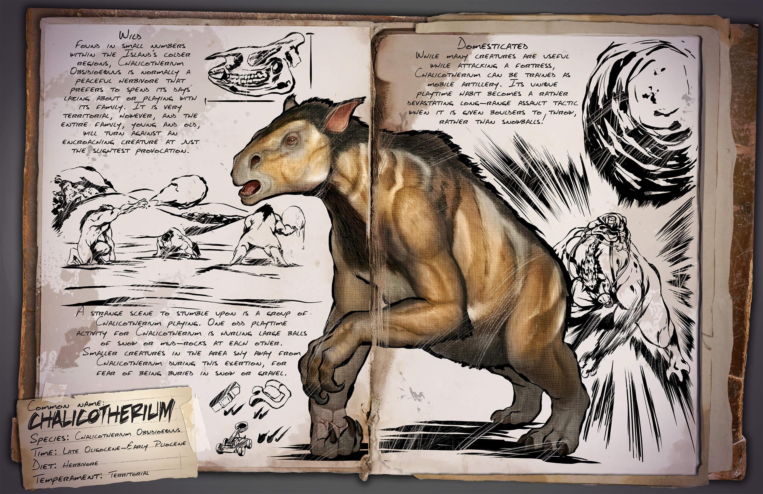 Chalicotherium - Survive ARK