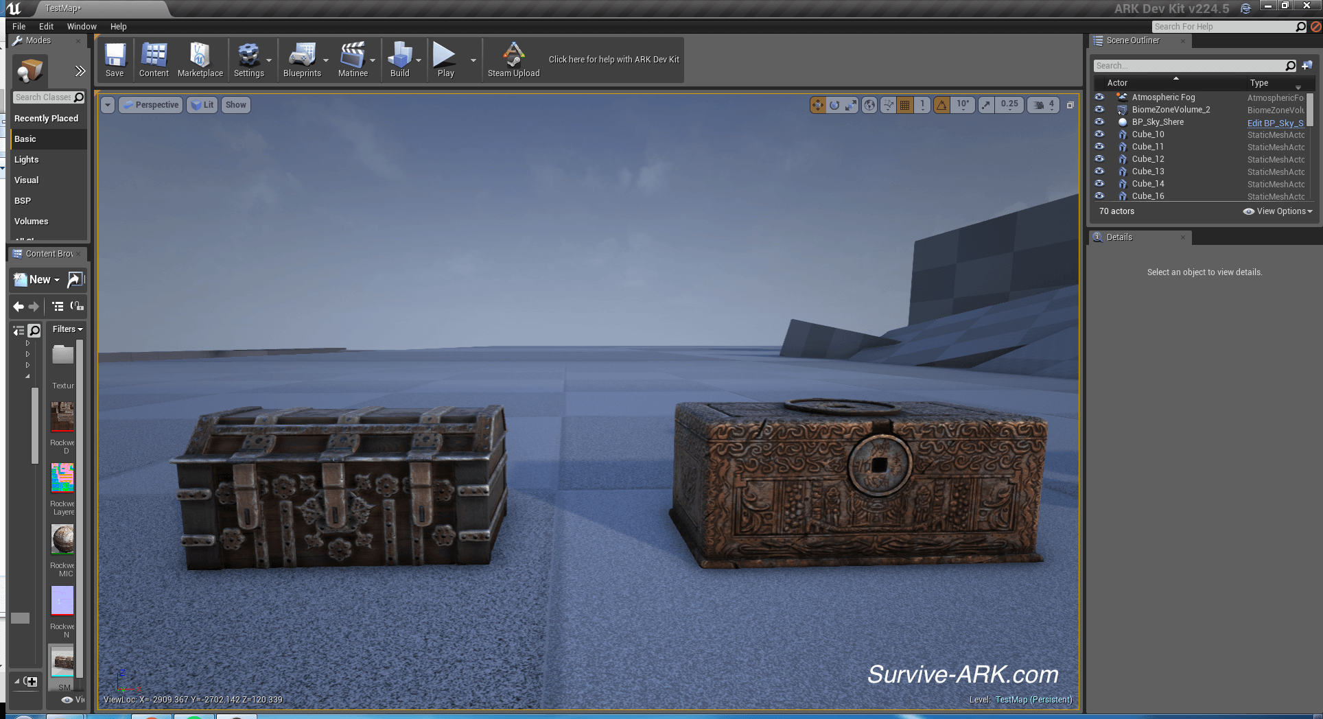 Devkit Preview: Explorer Chests, colored Beaver and colored