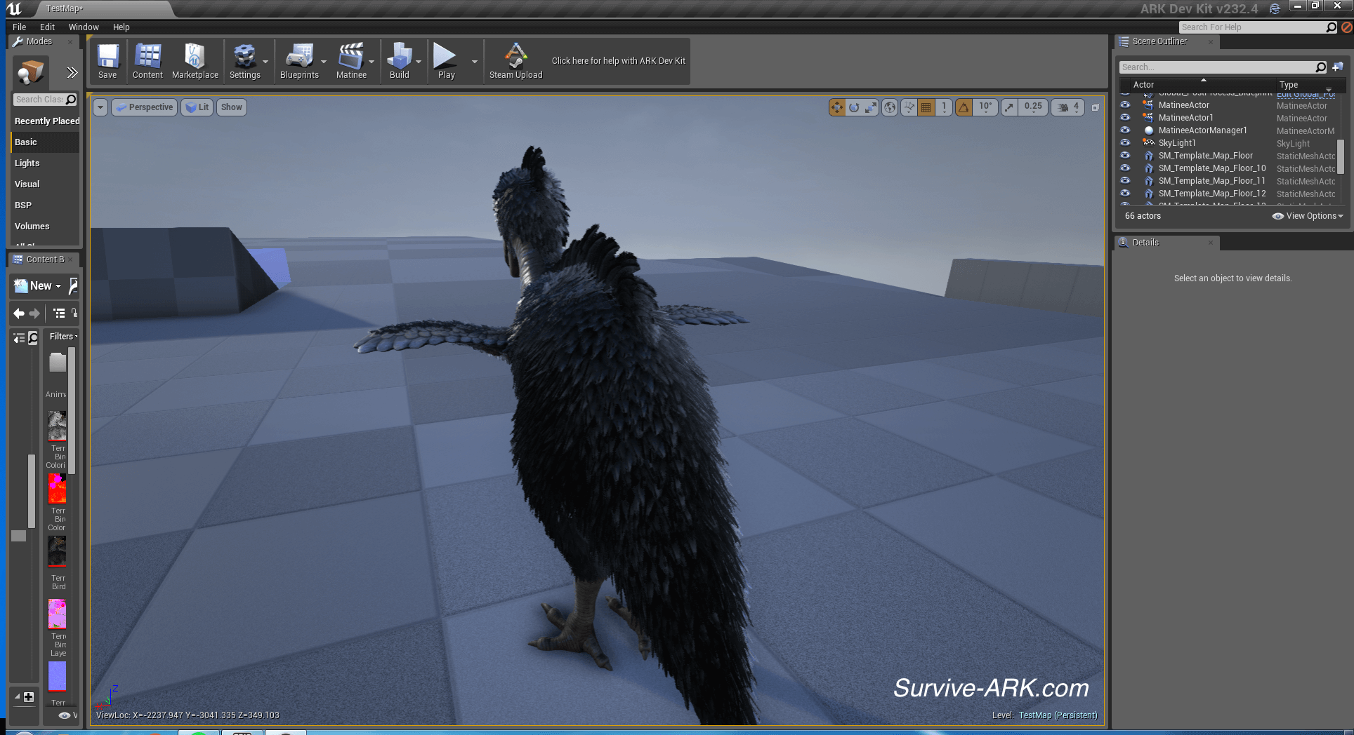 DevKit Preview: Feathered Terror Bird, Electric prod
