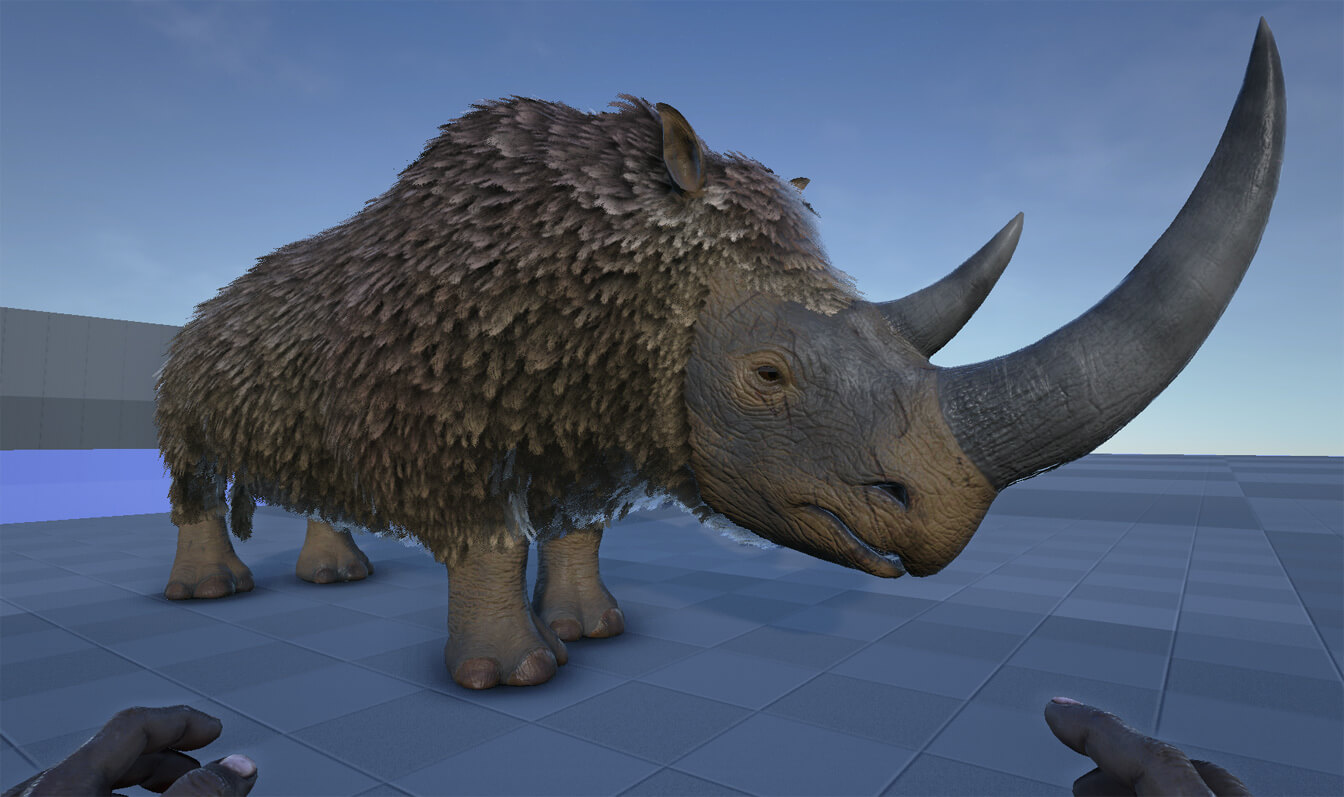 Woolly Rhino preview - Survive ARK