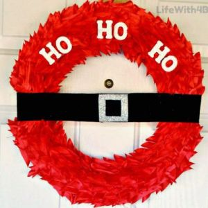 Ho-ho-door-wreath
