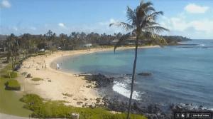Sheraton Kauai Resort streaming beach cam