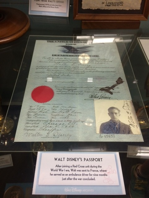 Walt Disney passport