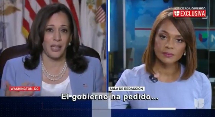 """""""I've Said I'm Going to the Border!"""" – Kamala Harris Snaps at Univision Reporter Asking When She Will Go to the Border (VIDEO)"""