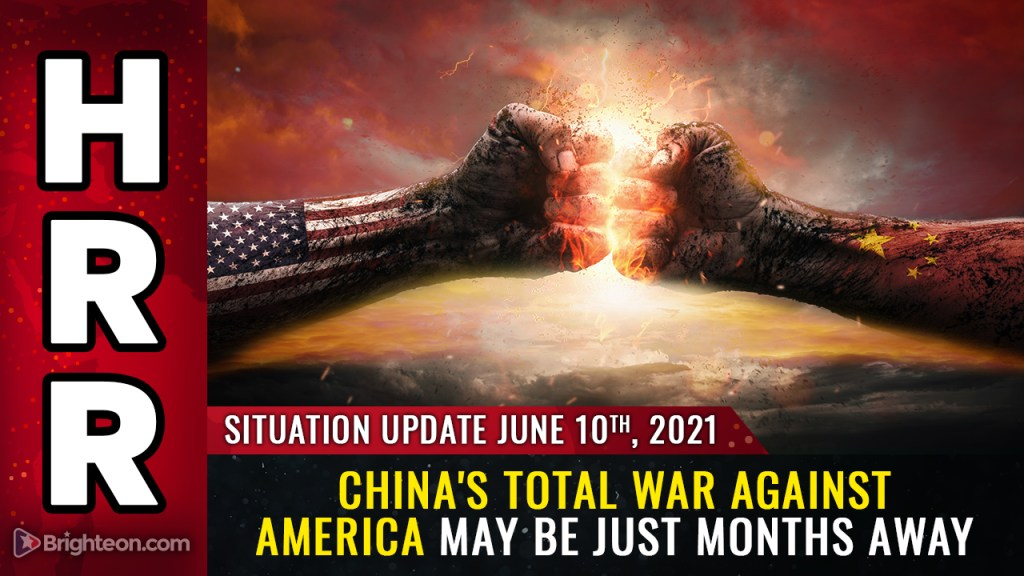 """Image: Geopolitics expert warns China preparing for TOTAL WAR against the United States in """"a matter of months"""" … cyber attacks, bioweapons, kinetic and NUCLEAR strikes all on the table"""