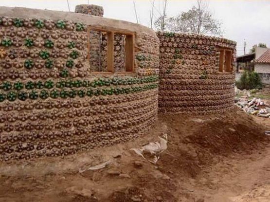 bottles house