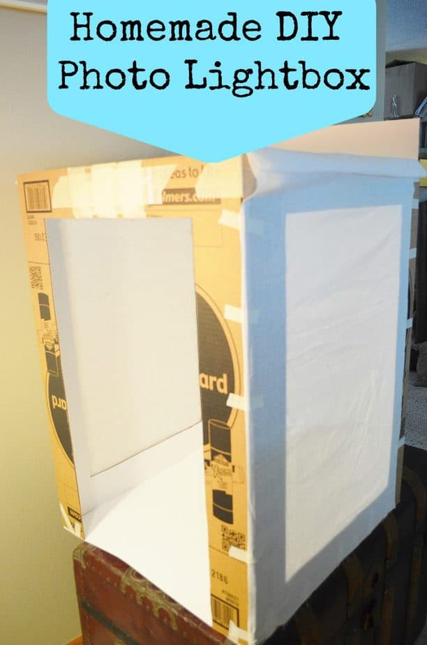 DIY Homemade Photography Light Box Step By Step Tutorial