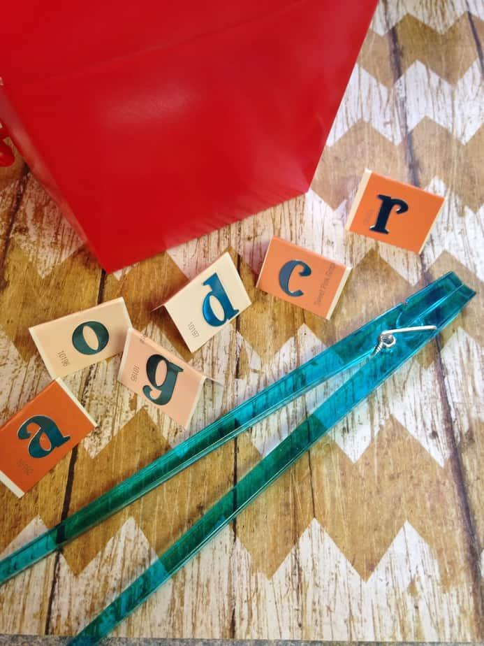 5 Chopsticks Letter Learning Games For Kids Fine Motor