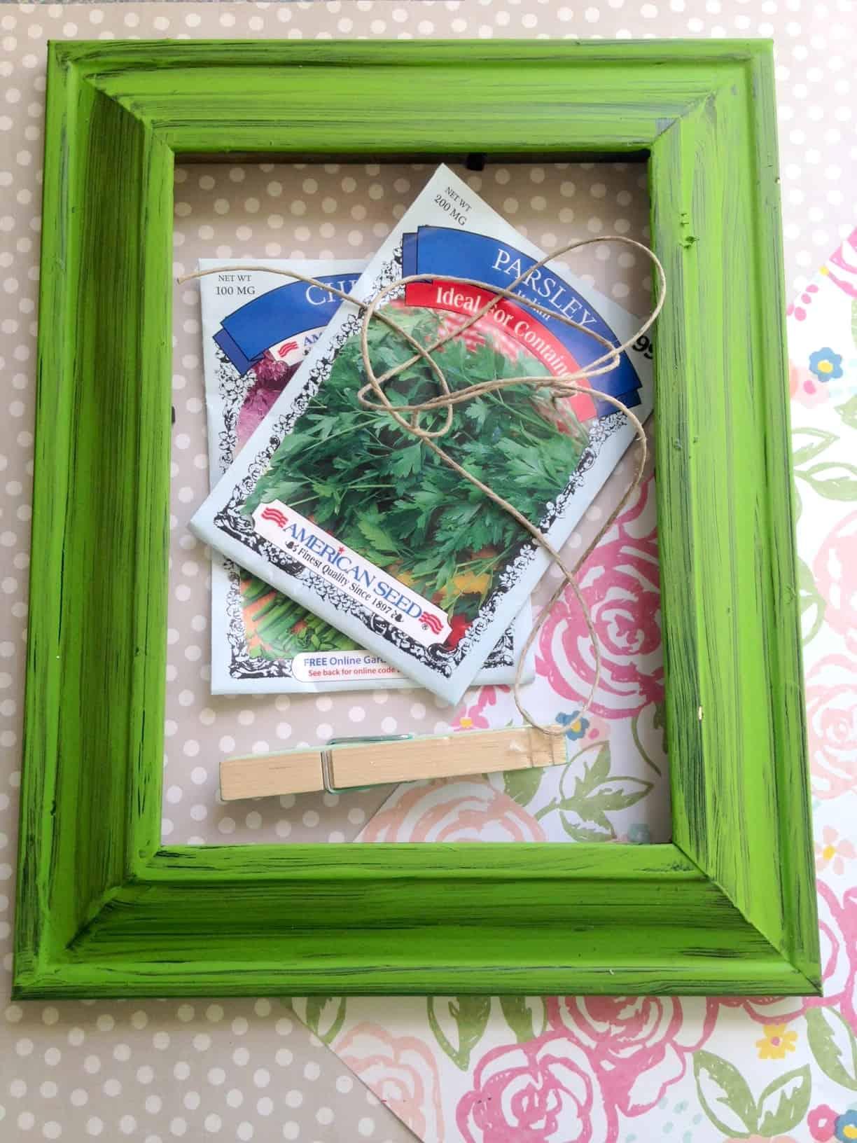 Diy Summer Garden Seed Packet Organizer Tutorial