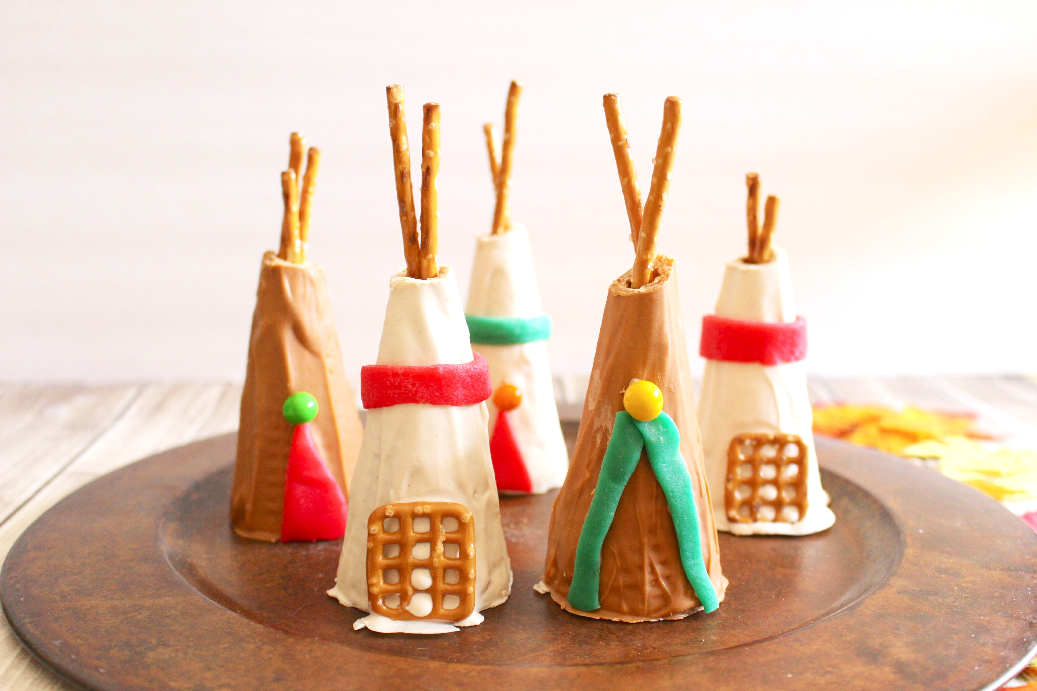 Sugar Cone Teepee Kid S Thanksgiving Party Recipe