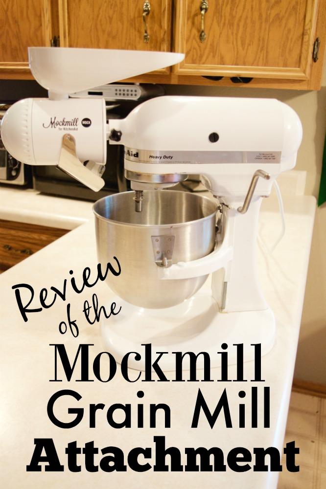 MockMill Grain Mill Attachment For KitchenAid Stand Mixers