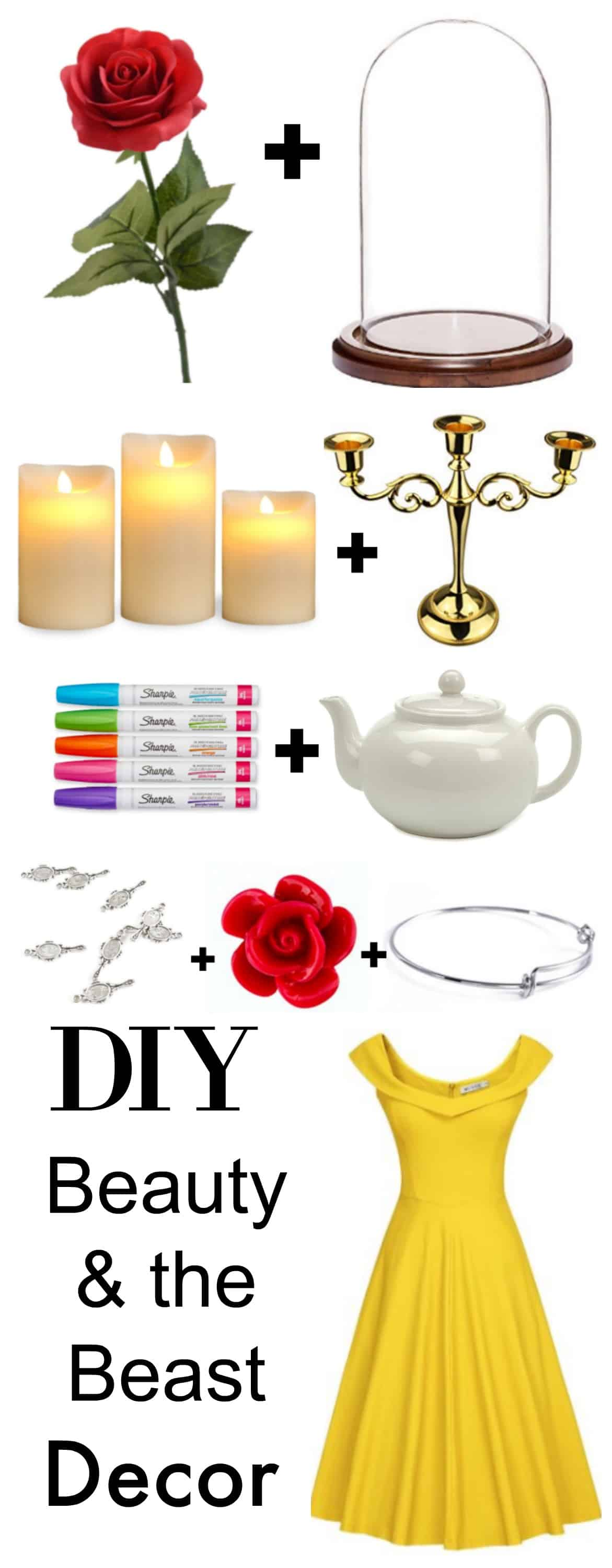 Diy Belle Inspired Beauty Amp The Beast Jewelry Tutorial
