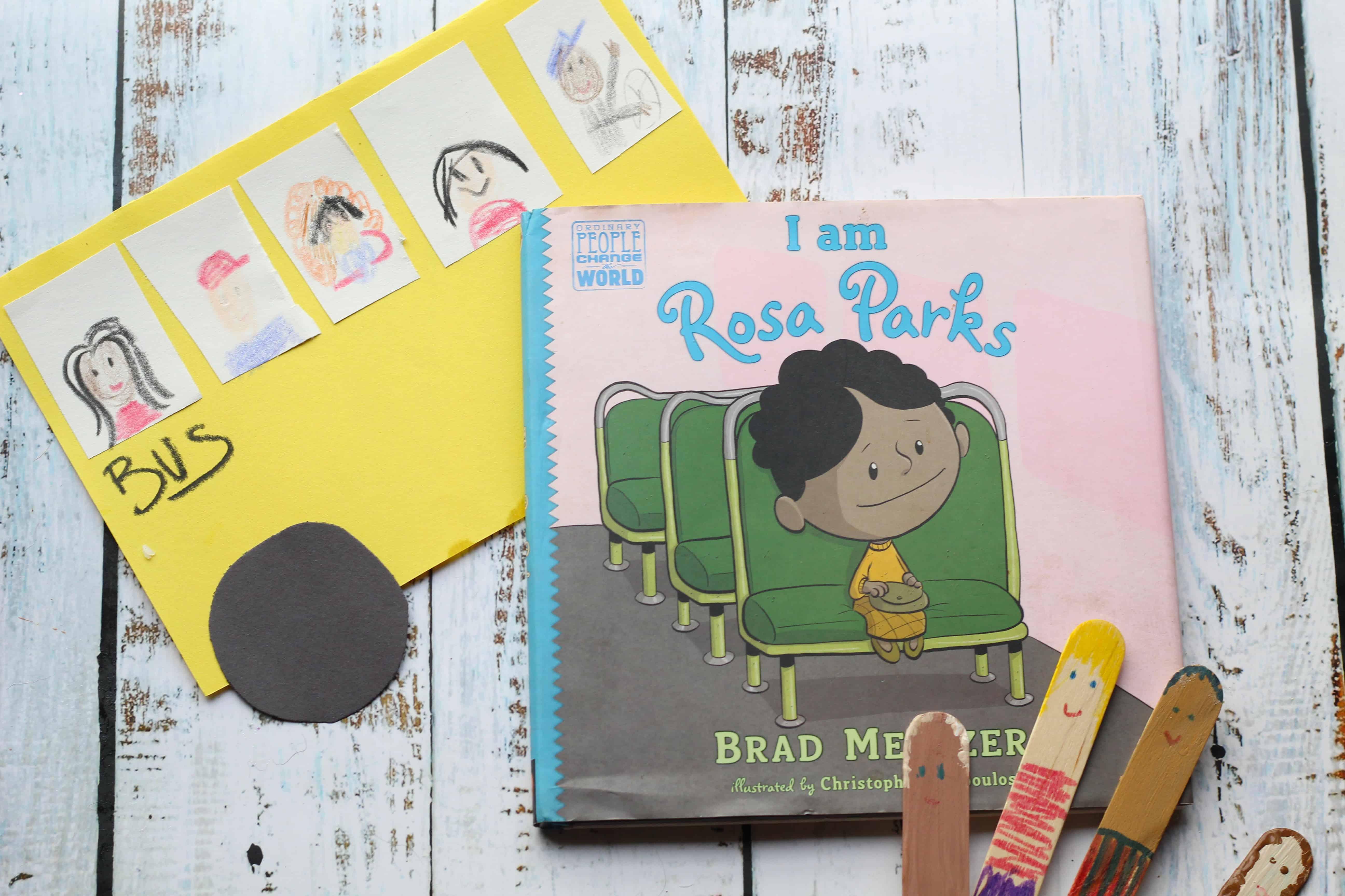 I Am Rosa Parks Mini Unit Study Crafts Vocab Writing