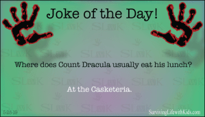 Where Does Count Dracula Usually Eat His Lunch?