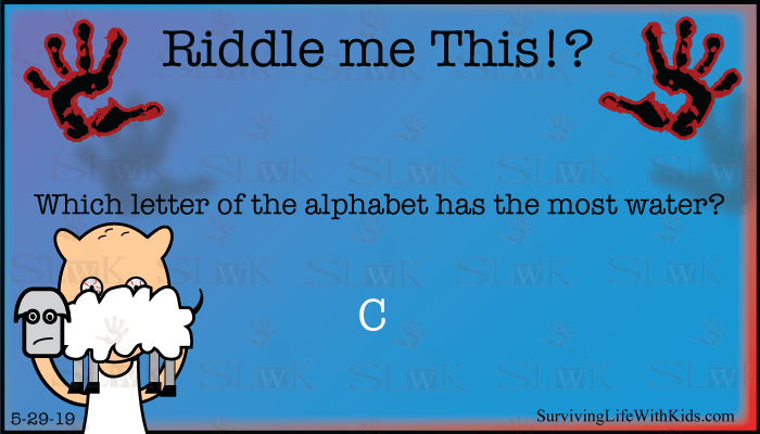 Which Letter of The Alphabet Has The Most Water?