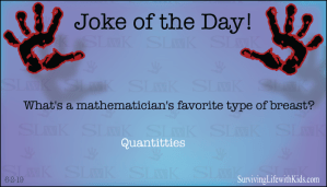 What's A Mathematician's Favorite Type of Breast?