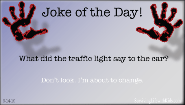 What did The Traffic Light Say to The Car?