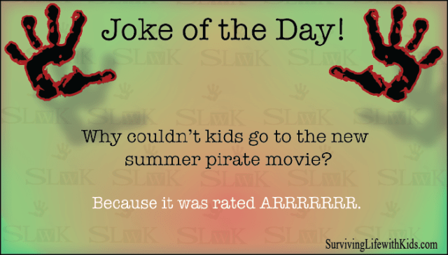 Why Couldn't Kids Go To The New Summer Pirate Movie?