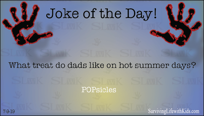 What Treat do Dads Like on Hot Summer Days?