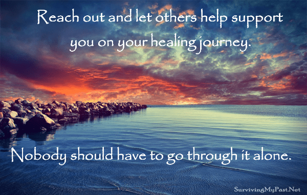 reach out to increase your support system