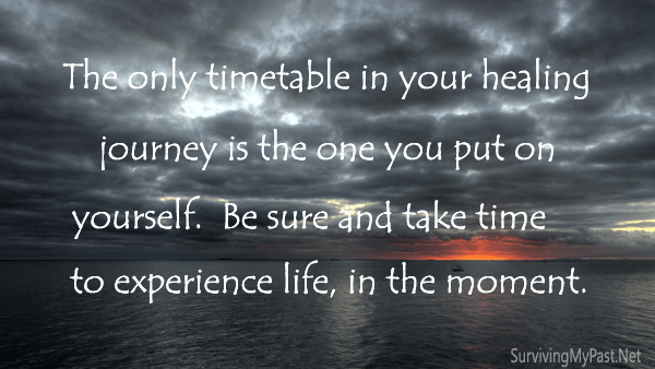take time to explore life in your healing journey