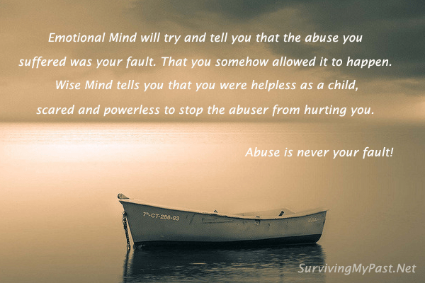 abuse is never your fault