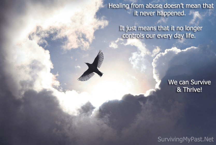 Healing from abuse doesn't mean it never happened