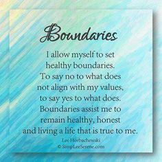 healthy-boundaries-quote Boundaries, what are mine and are they healthy?