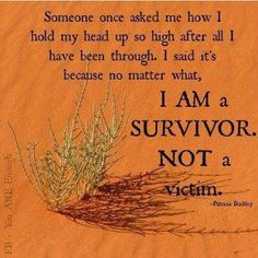 from-victim-to-survivor What It Means to Go From Victim to Empowered.