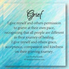 grief-quote-pinterest-Lee-Horbackewski A Survivor Coping with the Grief Triggers of a Funeral.