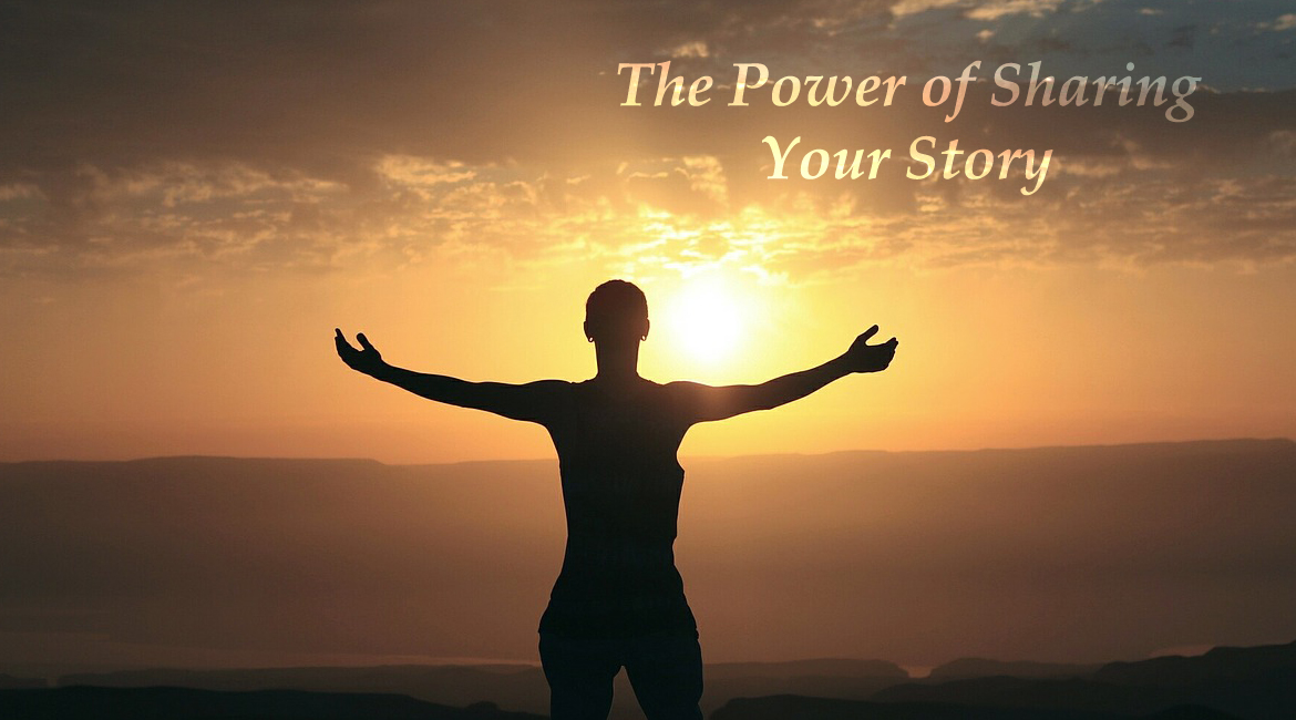 the power of sharing your story of living with mental health challenges