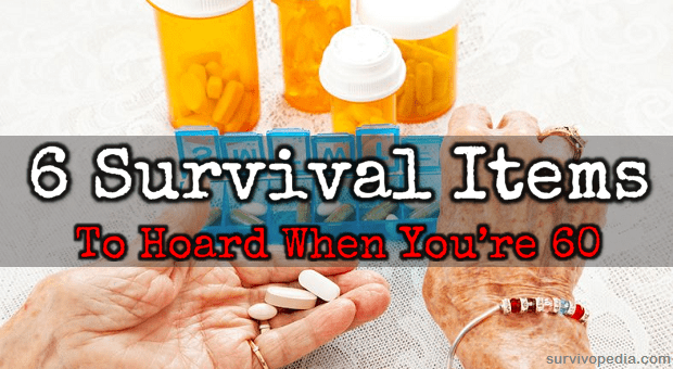 Survival items for seniors