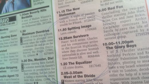 TV and Satellite Week - 26 April 1997