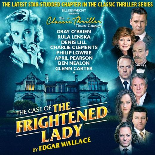 The Case of the Frightened Lady poster - portrait